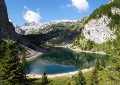 The Alpine landscape of Triglav National Park, Slovenia
