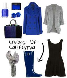 Avete già il vostro abbinamento super chich con il nuovo colore dell'inverno? Colors of California vi suggerisce un combo blu-nero… Check it out!