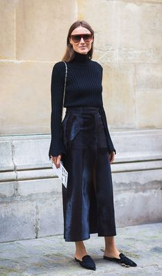 Your Complete Guide to Wearing a Turtleneck This Season via @WhoWhatWear