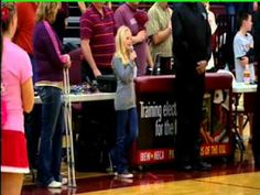 This 10-year-old wows the crowd with he rendition of The Star Spangled Banner