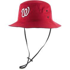 Washington Nationals  47 Kirby Bucket Hat - Red f9d17985fe30