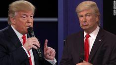 Was Trump playing Baldwin playing Trump? / Thurs