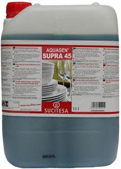 Aquagen Supra faciliteaza uscarea rapida si uniforma a vaselor.