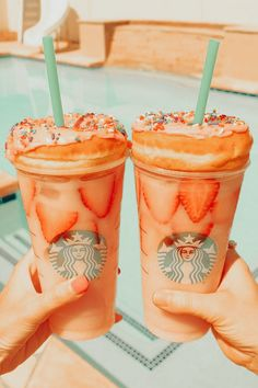 Cute Food, Good Food, Yummy Food, Tasty, Starbucks Recipes, Starbucks Drinks, Food N, Food And Drink, Yummy Treats