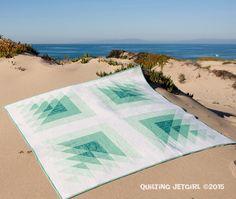 """Yvonne Fuchs pattern """"Triangle Transparency"""" xxx"""