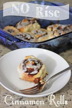 a little of this, a little of that: No Rise (Quick & EASY) Cinnamon Rolls. Made these with gluten free flour today....soo yummy!