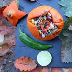 quinoa-cranberry-stuffed-mini-pumpkin-6