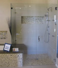 Pebble and tilework... gorgeous!