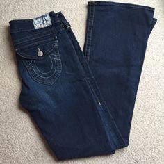 True Religion boot cut jeans NWOT Dark wash blue jean True Religion Jeans Boot Cut