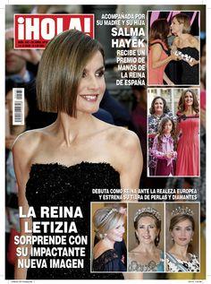 En ¡HOLA!: La reina Letizia sorprende con su impactante nueva imagen.