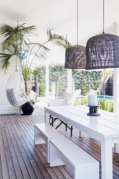 Most current Cost-Free byron bay Beach Houses Strategies Every Outside Finance institutions seashore house features its own personality—on the outstanding beachfront m. Decor, House Design, House, Home, White Beach Houses, House Inspiration, Beach Cottage Style, Beautiful Homes, House Interior