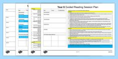 Guided Reading Planning Templates Best Of Year 5 Guided Reading Planning Template Literacy Language Guided Reading Plan Template, Guided Reading Lesson Plans, Guided Math, Photoshop Lessons, Australian Curriculum, Lesson Plan Templates, Teaching Resources, Year 6, Literacy