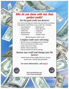 Tax Credit And Repair Flyer Secrets Exposed Here