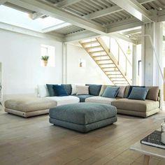 Sofa Design, Canapé Design, Interior Design, Minimalist Sofa, Room Colors, Living Room Decor, Sweet Home, Lounge, Couch