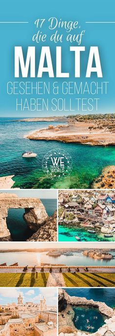 Malta highlights: 17 great things you should see and do in Malta - Malta Highlights – Our 17 Malta travel tips for your Malta vacation. Whether Valletta, Malta beac - Malta Valletta, Europe Destinations, Europe Travel Tips, Malta Vacation, Vacation Trips, Vacation Photo, Vacation Travel, Beach Travel, Vacations