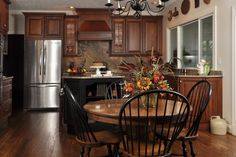You can envision a family gathering here!  Thanks Cabinet Showplace - #KitchenDesign @kitchenbathchan