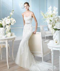 Trend Alert: St. Patrick Wedding Dresses 2014. To see more: http://www.modwedding.com/2013/12/16/trend-alert-st-patrick-wedding-dresses-2014-3/
