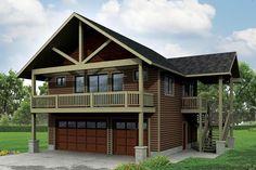 Craftsman Garage Plan 41162