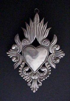 Resultado de imagen para corazon mexicano artesania