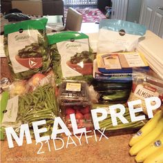 21 day fix – week 1 {recap} | Alesha Haley