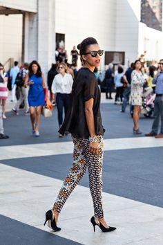 nyfw – the printed pants | STYLE ME GRASIE