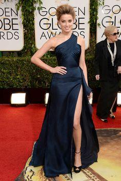 Amber Heard in Atelier Versace- Golden Globes 2014