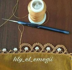 My Crochet Dream Filet Crochet, Beau Crochet, Crochet Lace Edging, Crochet Borders, Thread Crochet, Crochet Flowers, Crochet Stitches, Hexagon Crochet, Needle Tatting