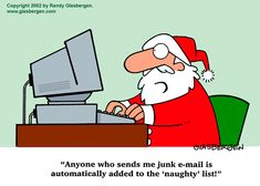 Junk emailers go on the naughty list
