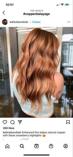 Red Balayage Hair, Hair Highlights, Strawberry Blonde Hair Color, Cabello Hair, Hairstylists, Auburn Hair, Beautiful Long Hair, Ginger Hair, Cool Hair Color