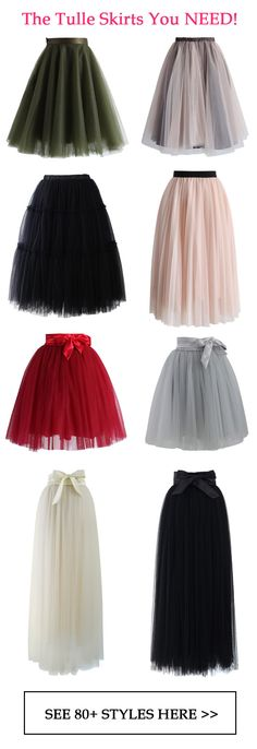 "The tulle skirts you need! Modest Fashion doesn't mean frumpy! Fashion Tips (and a free eBook) here: http://eepurl.com/4jcGX Do your clothing choices, manners, and poise portray the image you want to send? ""Dress how you wish to be dealt with!"" (E. Jean) http://www.colleenhammond.com/"