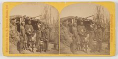 [American Indian] W.H. Jackson Stereoview of Pawnee Indians (7/25/2011 - ONLINE Western Americana Stereoview Auction)