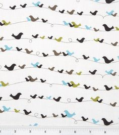 Colorbok Fabric - Woodhaven Birds - @Joann's $7.99