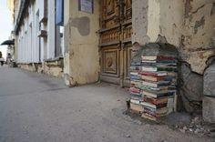 Самара. Россия. Вход в районную библиотеку