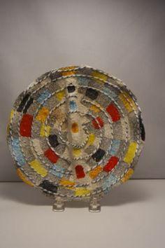 RARE VTG MID CENTURY  ASHTRAY /DIVIDED BOWL ALDO LONDI BITOSSI ITALIAN  POTTERY in Pottery & Glass, Pottery & China, Art Pottery, European Pottery, Italian | eBay