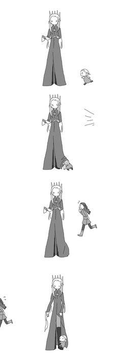 Legolas Hiding
