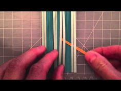 Paper Weaving - Part 2 - YouTube