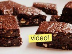 """VIDEO: """"la receta de tu vida si te gusta el chocolate!"""" así describe Paulina estos irresistibles Brownies caseros sin horno."""