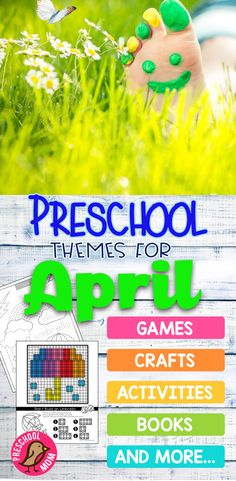 April Preschool Themes for Spring Fun in the Classroom