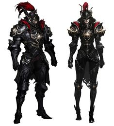 View an image titled 'Eternal Coliseum Plate Armor Art' in our Aion art gallery featuring official character designs, concept art, and promo pictures. Fantasy Character Design, Character Design Inspiration, Character Concept, Character Art, Fantasy Armor, Medieval Fantasy, Dark Fantasy Art, Armor Concept, Concept Art