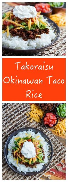Takoraisu- Okinawan Taco Rice
