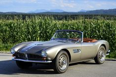 1959 BMW 507 Series II Roadster. Only 252 made and stunning.