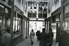 Shoppers in Piccadilly Arcade in Hanley, in Stoke On Trent, Lost City, Newcastle, Old Photos, Arcade, Past, Old Things, Street View, Memories