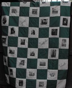 This is my Family Tree Quilt for McConnell - Swafford  - Zinn  - Ward