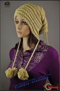 Hoodie Pixie Crochet Hat