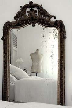 """""""Mirror, mirror, hopefully on my wall, because you are the fairest of them all"""""""