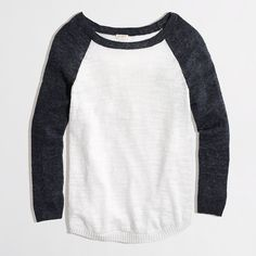 """This sweater says """"Saturday morning, running errands"""" to me and I'd wear it with a baseball cap, cropped jeans and converse tennis shoes.  I like its simplicity... and that it's a sweater rather than a shirt."""