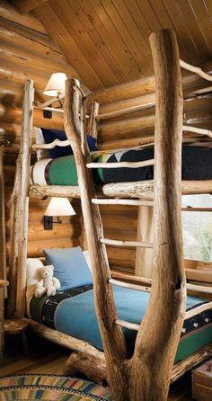 Rustic Bedroom Rocky Mountain Log Homes