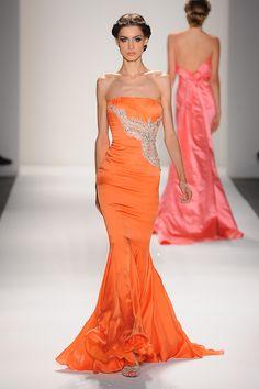 Venexiana Spring 2013 #designer evening gown strapless