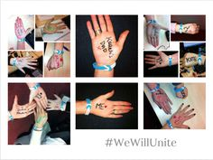 #WeWillUnite #WorldCancerDay The team at Utility People showing their support!