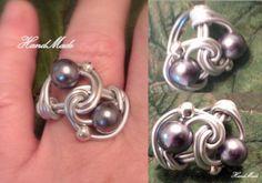 Aluminum Ring - Anillo de Aluminio  4.00  www.facebook.com/HandMade.HechoaMano